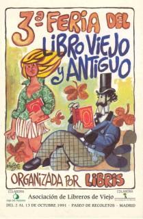 3ª Feria de Otoño del Libro Viejo y Antiguo de Madrid