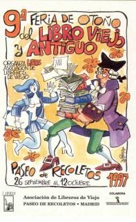 9ª Feria de Otoño del Libro Viejo y Antiguo de Madrid
