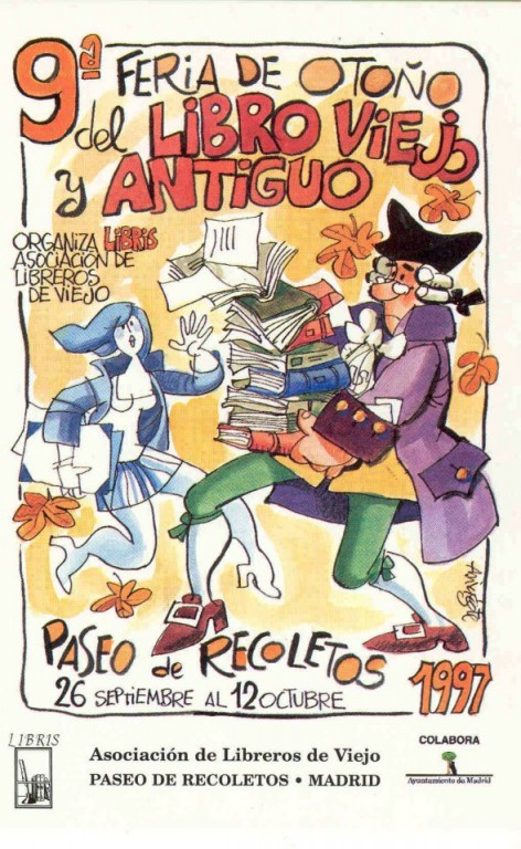 9ª-Feria de Otoño del Libro Viejo y Antiguo de Madrid