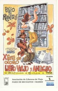 X Feria de Otoño del Libro Viejo y Antiguo de Madrid