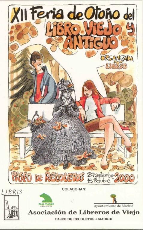 XII-Feria de Otoño del Libro Viejo y Antiguo de Madrid