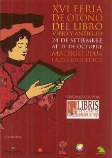XVI Feria de Otoño del Libro Viejo y Antiguo de Madrid
