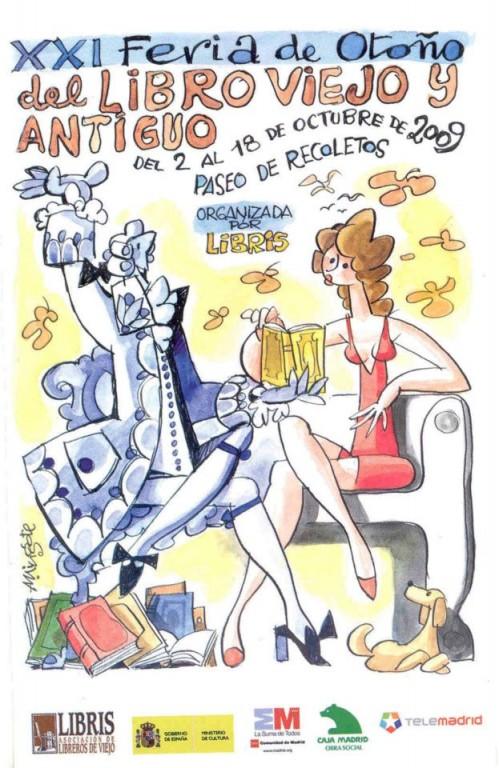 XXI-Feria de Otoño del Libro Viejo y Antiguo de Madrid