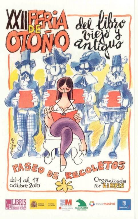 XXII-Feria de Otoño del Libro Viejo y Antiguo de Madrid