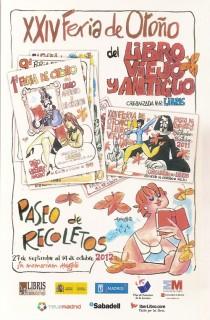 XXIV Feria de Otoño del Libro Viejo y Antiguo de Madrid