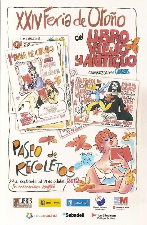 XXIV-Feria de Otoño del Libro Viejo y Antiguo de Madrid