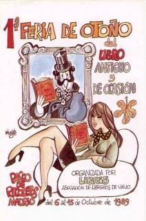 1ª Feria de Otoño del Libro Viejo y Antiguo de Madrid