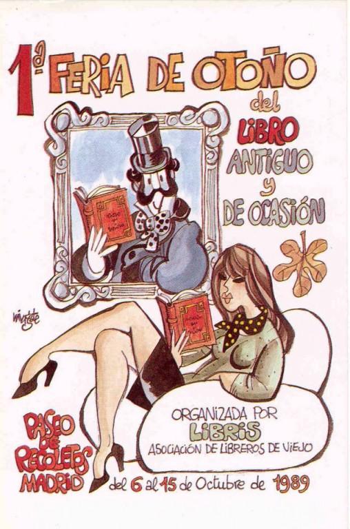 1ª-Feria de Otoño del Libro Viejo y Antiguo de Madrid