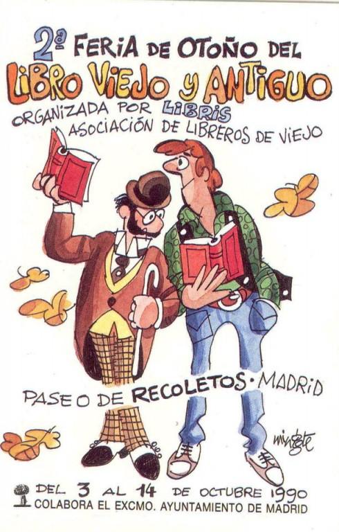 2ª-Feria de Otoño del Libro Viejo y Antiguo de Madrid